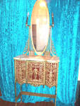 Gold Finish Vanity - King Farouk Royal Palace Item