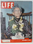 Life Magazine-september 19, 1960-grandma Moses