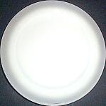 Homer Laughlin Gray Rim Dinner Plate