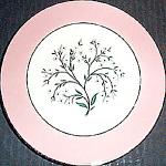 Homer Laughlin Springtime Bread Plate