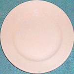 Homer Laughlin Tan Dessert Plate