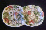 Lefton's Two Part Serving Dish