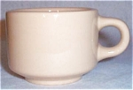 Homer Laughlin Best China Tan Cup