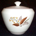 Cunningham Pickett Vogue Sugar Bowl