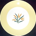 Homer Laughlin Sunrise Dinner Plate