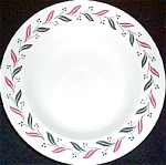 Homer Laughlin Pink Laurel Soup Bowl