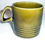 Homer Laughlin Surfside Green Cup