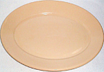 Homer Laughlin Best China Tan Platter