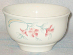 Homer Laughlin Pink Sage Fruit Bowl