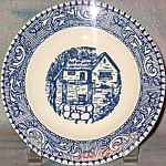 Homer Laughlin Shakespeare Country Bread Plate