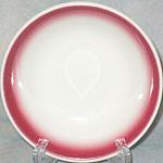 Homer Laughlin Red Rim Fruit Bowl