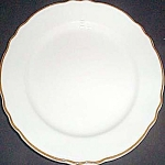 Homer Laughlin Styleline Gold Dinner Plate