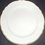 Homer Laughlin Styleline Gold Dinner Plate