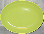 Homer Laughlin Rhythm Chartreuse Platter