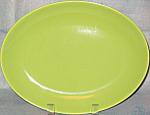 Homer Laughlin Rhythm Chartreuse Platter