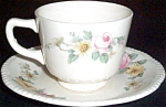 Homer Laughlin Dixie Rose / Armand Cup And Saucer