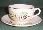 Mt Clemens Fern Cup And Saucer