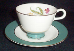 Homer Laughlin Berkshire Cup And Saucer