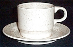 Homer Laughlin Country Sage Cup And Saucer