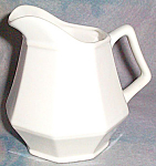 Homer Laughlin Colonial White Creamer