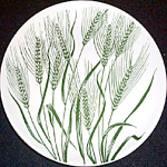 Homer Laughlin Americana Wheat Salad Plate