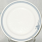 Homer Laughlin Blue Iris Bread Plate