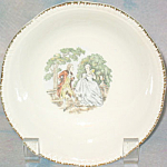Homer Laughlin Courting Couple Cereal Bowl