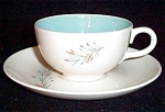 Homer Laughlin Fortune Cup And Saucer