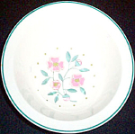 Homer Laughlin Tudor Rose Cereal Bowl