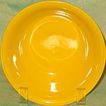 Homer Laughlin Carnival Yellow Cereal Bowl