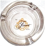 Fairmont Hotels Glass Ashtray