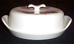 Iroquois Grapes Covered Butter Dish