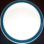 Iroquois Blue Border Salad Plate