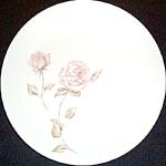 Iroquois Beige Rose Salad Plate