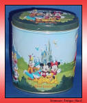 Disney Characters Magic Kingdom Tin