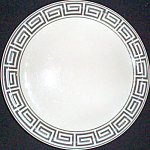 Jackson Greek Key Salad Plate