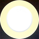 Jackson Yellow Border Dinner Plate