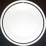 Jackson Black Stripe Salad Plate
