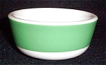 Jackson Green Border Dessert Bowl