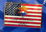 Pin Winter Olympics Salt Lake City 2002 Us Flag With Logo Mip