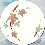 Sango Primastone Autumn Leaves Chop Plate