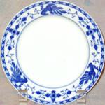 Mikado Blue 11405 Bread Plate