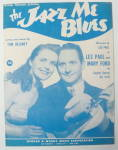 Sheet Music For 1948 The Jazz Me Blues