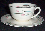 Knowles Carlton Cup And Saucer