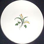 Knowles Forsythia Dinner Plate