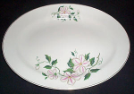Knowles Clematis Large Platter