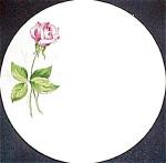 Knowles Tea Rose Bread Plate