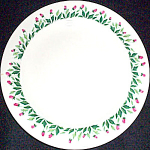 Knowles Rose Path Salad Plate