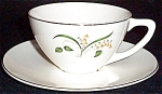 Knowles Forsythia Cup And Saucer