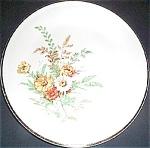 Knowles Garden Bouquet Luncheon Plate